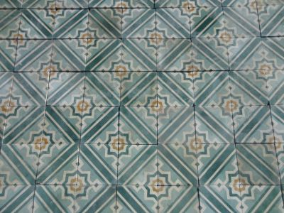 Vauban - carreaux ciment anciens - salvage concrete tiles - reclaimed cement tiles